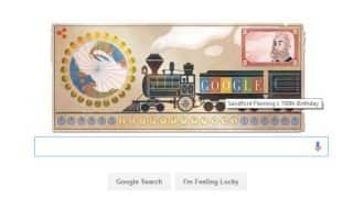 Sandford Fleming's 190th birthday Google Doodle pays tribute to the inventor of standard time zones