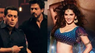 Wow! Sunny Leone beats Salman Khan in delivering Shah Rukh Khan's Raees dialogue! Watch video