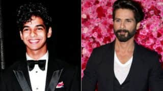 Shahid Kapoor's brother Ishaan Khattar begins shooting for Majid Majidi's next! Proud brother shares picture on Instagram