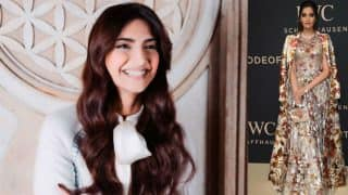 Sonam Kapoor enchants at the IWC Schaffhausen gala in Geneva, shows us why she is an eternal fashionista! (View pictures)