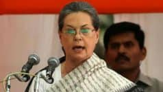 Sonia Gandhi Attacks PM Modi at CWC Meeting, Says Demonetisation Has Rubbed Salt on Wounds of Farmers, Traders, House-wives And Workers