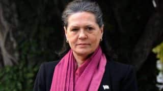 Sonia Gandhi accuses Prime Minister Narendra Modi of taking away people's 'happiness'
