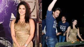 Shah Rukh Khan's Raees success party: Sunny Leone looks gorgeous; Mahira Khan misses all the fun!