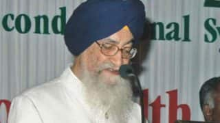 Surjit Singh Barnala: A gentlemanly, clean and popular politician