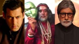 Swami Om threatens to beat Salman Khan 'black and blue'! And Bigg Boss 10's evicted Baba considers himself to be better actor than Amitabh Bachchan