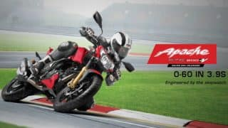 TVS Motorcycles at Auto Expo 2018 LIVE Streaming: Watch Live Telecast & Online Webcast as TVS Apache RTR 160, Apache RTR 180, TVS NTorq Debut to Public