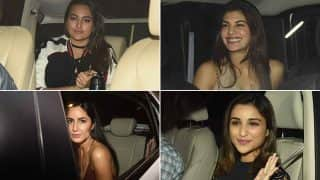 Alia Bhatt, Katrina Kaif, Sonakshi Sinha & Parineeti Chopra party with birthday boy Sidharth Malhotra at bash hosted by Karan Johar! (See pics)