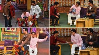 Jackie Chan debuts on The Kapil Sharma Show to promote Kung Fu Yoga with Sonu Sood ! (View Pictures)