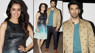 Shraddha Kapoor and Aditya Roy Kapoor are twinning and winning hearts with their Ok Jaanu promotions!