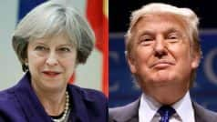 British PM Theresa May to discuss free trade, terrorism with Trump