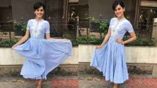 Taapsee Pannu promotes RunningShaadi in the quirkiest way ever! Gatecrashes a real wedding! (See pics)
