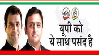 Samajwadi Party-Congress Launches Facebook Page for UP Assembly Elections 2017: Debuts campaign with 'UP ko ye saath Pasand Hai'