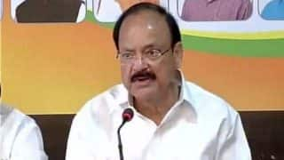 Urge Opposition to rise above politics and support GST: Venkaiah Naidu