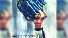 Virat Kohli turns Bahubali in India vs England 2017 ODI series! This picture on Instagram will crack cricket fans up
