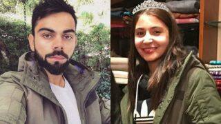 Aww! Virat Kohli and Anushka Sharma share clothes! This photo on Instagram is a cute proof