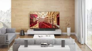 Xiaomi Mi TV 4 is so thin at 4.9mm thickness, it will make even your 'slimmest' smartphone feel fat