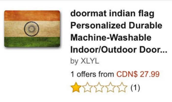 Amazon Canada has removed an Indian flag doormat after angry tweets (US and UK flag doormats still available) ...  sc 1 st  Reddit & Amazon Canada has removed an Indian flag doormat after angry tweets ...