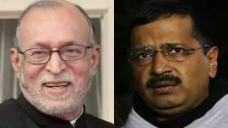 AAP - LG tussle continues as Anil Baijal returns file on DTC bus fare cuts to Delhi govt