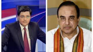 Arnab Goswami changes channel name from 'Republic' to 'Republic TV' after Subramanian Swamy files complaint