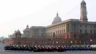 Experience the breath taking performance of 16 bands at 'Beating The Retreat' ceremony