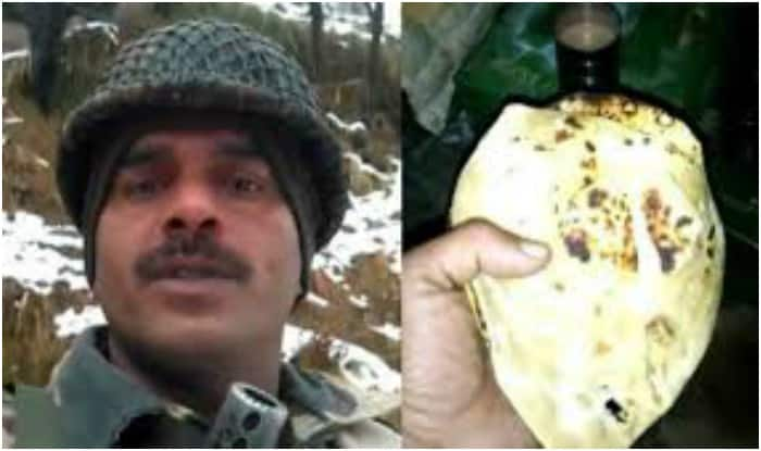 BSF constable's video on poor quality of food goes viral.