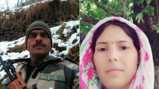 BSF जवान तेजबहादुर से मिली उनकी पत्नी, हाईकोर्ट में कहा 'अब संतुष्ट हूं'