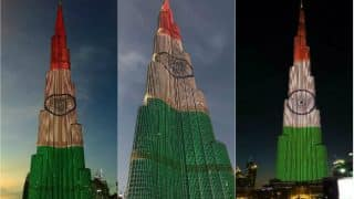 Burj Khalifa Republic Day Celebration 2017 Live: Watch how India's tricolour look at the world tallest tower