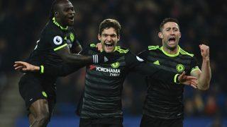 English Premier League: Marcos Alonso scores brace as Chelsea beat Leicester