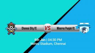 Chennai City FC vs Minerva Punjab FC I-League 2017 preview, live streaming and telecast info