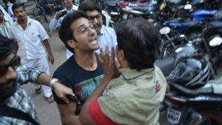 Pulkit Samrat attacks photographer after filing for divorce from Salman Khan's rakhi sister Shweta Rohira! Pictures go viral!