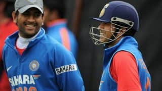 Tendulkar Feels Dhoni Should Bat at No. 5 in World Cup