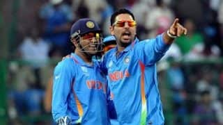 India vs England 2nd ODI: MS Dhoni and Yuvraj Singh's partnership at Cuttack wins applause on Twitter