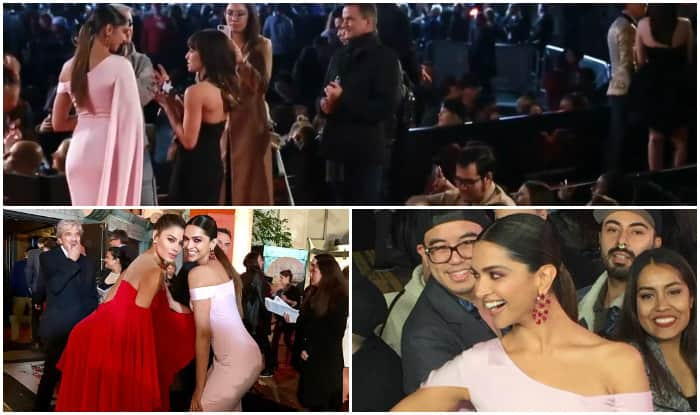 Deepika Padukone stuns at xXx: Return Of Xander Cage premiere, COPIES from Priyanka Chopra's outing from PCA? View FIRST pics