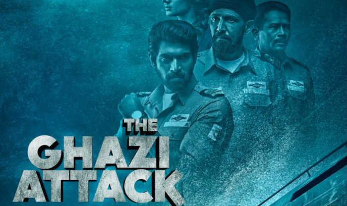The Ghazi Attack Posters: Rana Daggubati, Taapsee Look Intense