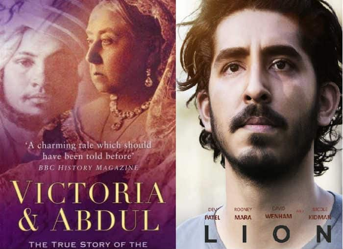 Lion Victoria And Abdul Hollywood Movies Based On Books By Indian Authors