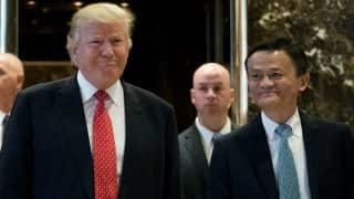 Alibaba founder Jack Ma meets Donald Trump to help American small business