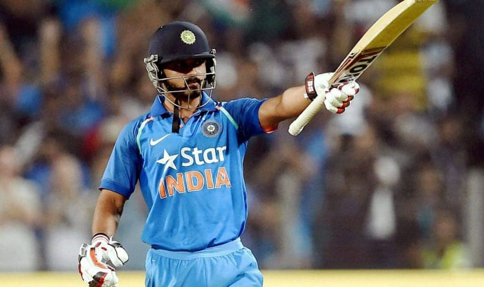 Kedar Jadhav scored a 76-ball 120 in the first one-dayer against England. (PTI Photo)
