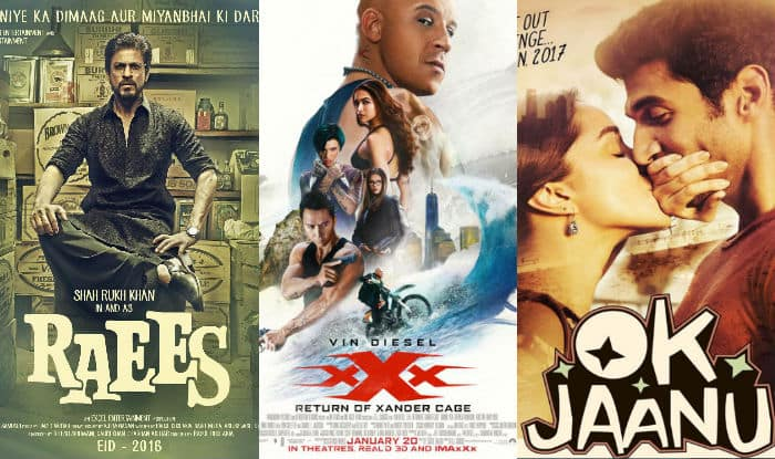 Box Office Calendar  Of Movies Releasing In January Raees Ok Jaanu Passengers Kaabil And More Set Up Exciting Bollywood Vs Hollywood Clash