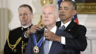 Barack Obama confers VP Joe Biden with Presidential Medal of Freedom; gives emotional address (Watch Video)