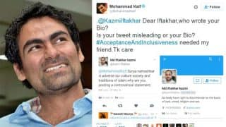 Mohammad Kaif shuts down religious trolls on Twitter who called him
