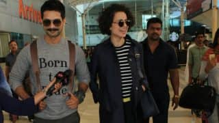 Rangoon actor Shahid Kapoor clears the air around his tiff with co-star Kangana Ranaut!
