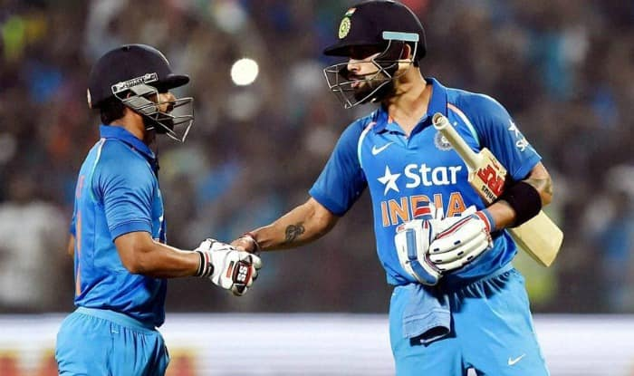 Kedar Jadhav was adjudged man-of-the-series for his 232 runs in the series | PTI Photo