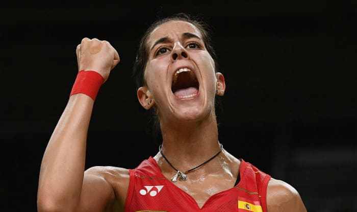 File photo of Carolina Marin.