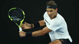 Rafael Nadal making steady progress under Carlos Moya's tutelage