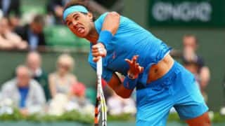 Australian Open 2017: Rafael Nadal registers a straight sets win over Milos Raonic to enter the semi-finals