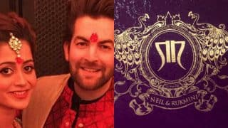 Neil Nitin Mukesh & Rukmini Sahay to have destination wedding in Udaipur on February 9! See pictures of their royal wedding invite here