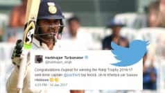 Parthiv Patel-led Gujarat lift Ranji Trophy 2016/17, here is how Twitterati reacted