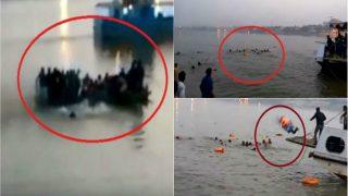 पटना: गंगा नदी में मौत का तांडव, नाव पलटी, 21 लोगों की मौत का LIVE VIDEO