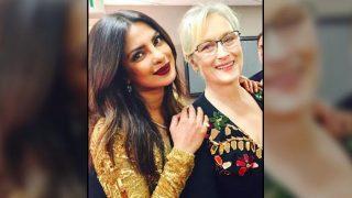 Priyanka Chopra is floored with Meryl Streep's Golden Globe Awards 2017 speech; calls herself a fan girl