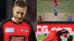 क्रिकेट के मैदान पर हुआ बड़ा हादसा, टूटा इस विकेटकीपर का जबड़ा (वीडियो)